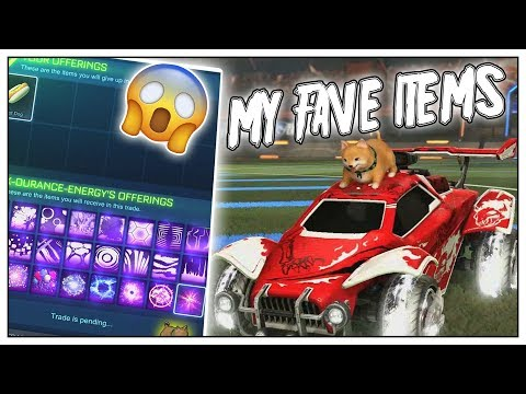 MY FAVOURITE ITEMS IN ROCKET LEAGUE INVENTORY SHOW CASE CAR BUILDS AND ITEMS IM LOOKING FOR thumbnail
