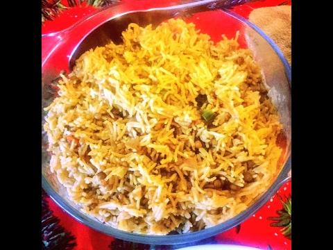Lentils With Rice {Maash Pallow, Adas Pollow, Mujadarra, Masoor Dal with Rice} - By MahGul