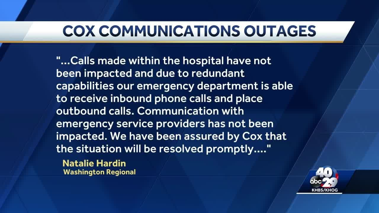 Cox Communications experiencing statewide outage in Arkansas