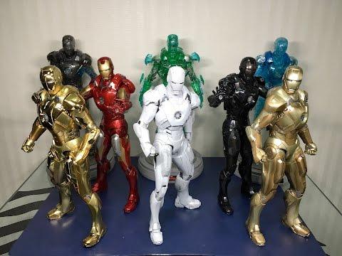 Mark 7 Sub Zero Exclusive Iron Man by Hot Toys