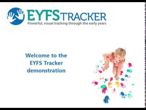 EYFS Tracker Tutorial: Demo Video