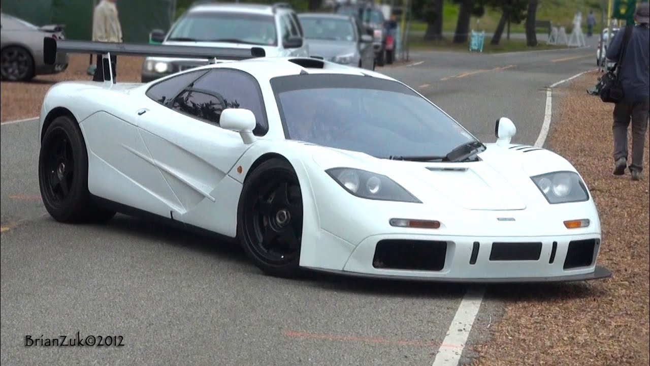 McLaren F1 with High Downforce Kit - YouTube