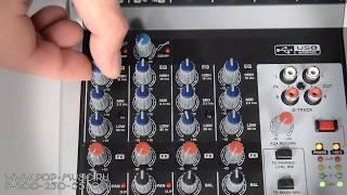 Микшерный пульт BEHRINGER Q802USB XENYX (Best Entry Level Mixer)