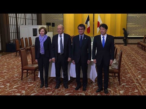 Japan and France increase cooperation and curb DPRK threat
