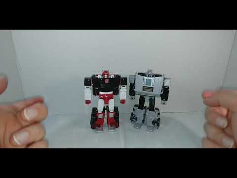 Chuck's Reviews Transformers Crossover Back To The Future Gigawatt