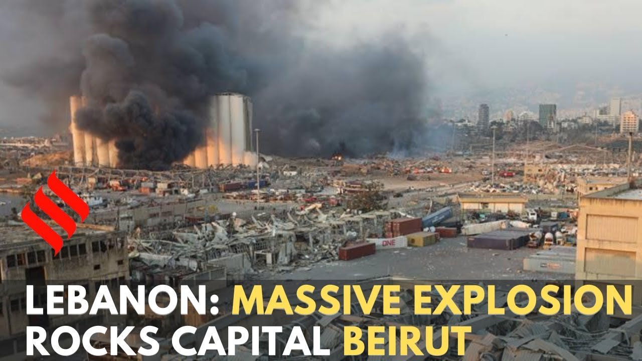 Download Lebanon: Massive explosion rocks capital Beirut