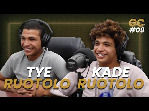Andre Galvao Podcast #9 - with BJJ Phenoms Ruotolo TWINS