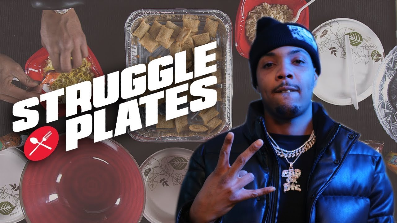 G Herbo's Pizza Rolls and Ramen Cuisine on a Budget | Struggle Plates -XXL