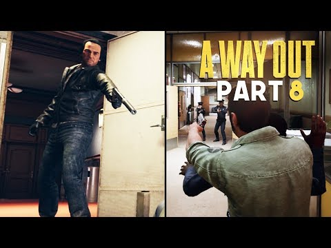 RUNNING FROM AN ASSASSIN - A Way Out - Part 8 (Prison Break Escape Game)