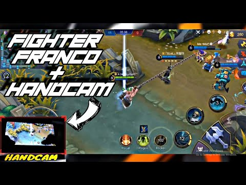 HANDCAM FRANCO FIGHTER 😍   HOOKS MONTAGE    WOLF XOTIC