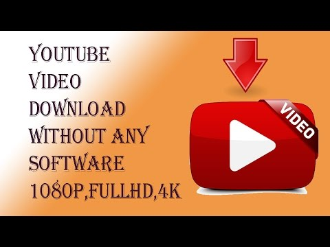 youtube video download without any software