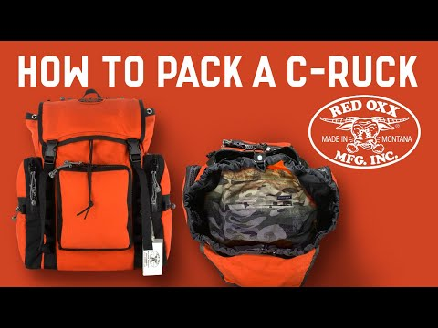 How to Pack your Red Oxx C Ruck Rucksack