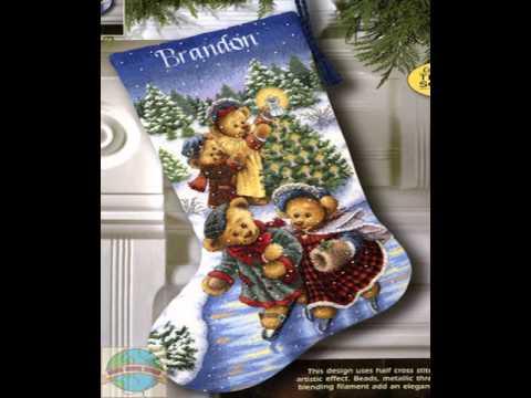 christmas cross stitch stocking kits - Cross Stitch Christmas Stocking Kits