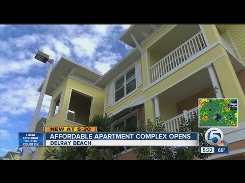 Affordable Apartment Complex Opens