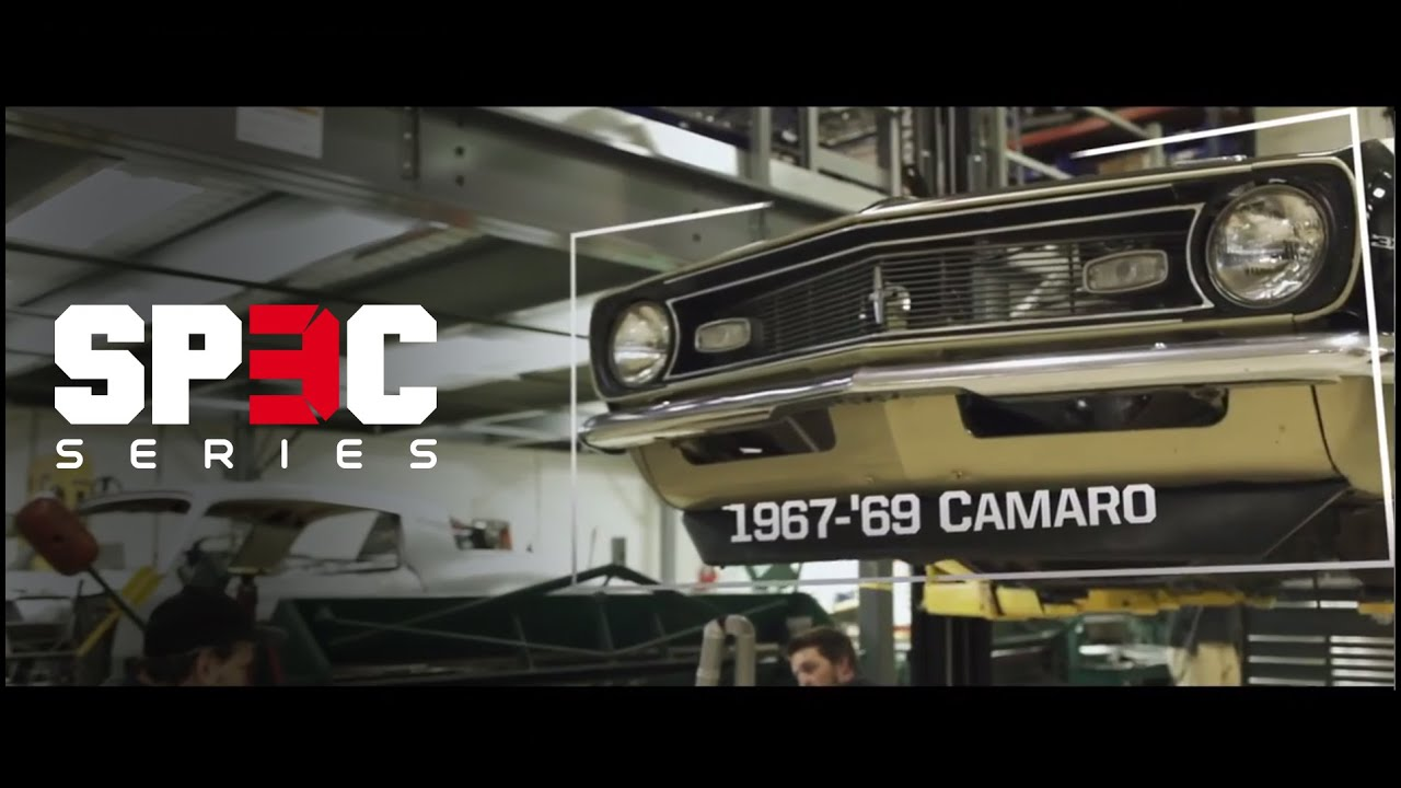 Roadster Shop SPEC series 1967-69 Camaro Chassis - YouTube