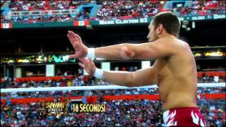 "2012 WWE Slammy Nominees - ""Tell Me I Did NOT Just See That"""