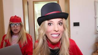 BEST MAGIC TRICK WINS! Going Undercover as Funny Magician in RHS Tea Party! Rebecca Zamolo