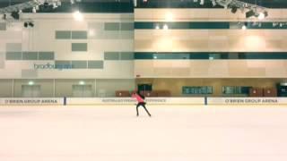 【ORIGINAL CHOREOGRAPHY】I TRIED TO SKATE TO THEME OF KING J.J [YURI ON ICE!!!]