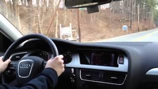 2012 Audi A4 2.0T Quattro Test Drive
