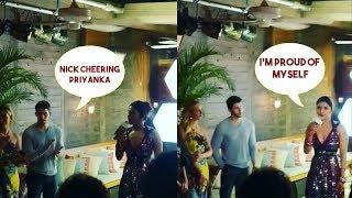 Nick Jonas Cheer Up Wife Priyanka Chopra Adorably As She Launches Her App Bumble