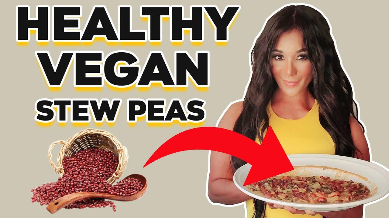 how to make stew peas jamaican style vegan  youtube