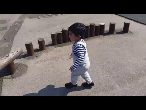 Arsal is Playing OutSide in Miriam Lord School  (12 May 2016)