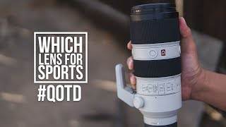 Which Sony Mirrorless Lens for…