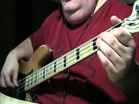 The Bee Gees Stayin Alive Bass Cover