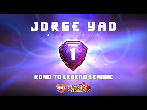 Clash of Clans | ROAD TO LEGENDS EP. #8 - JORGE YAO WHALE DASH!