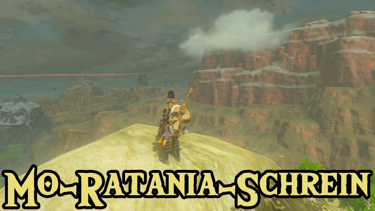 Zelda Breath Of The Wild Schrein Karte.Mo Ratania Schrein Mit Schwung Zelda Breath Of The Wild