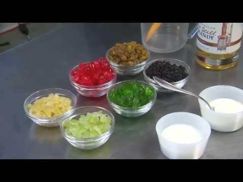Making Congressman Blumenauer's famous fruitcake