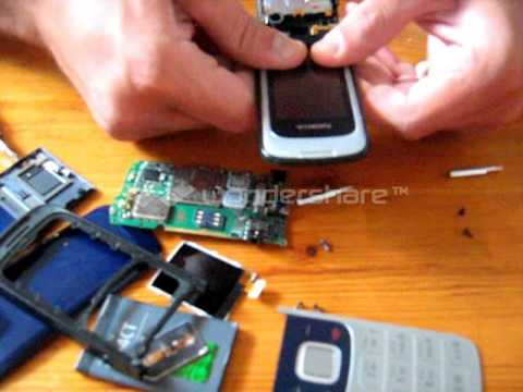how open a phone nokia 2720