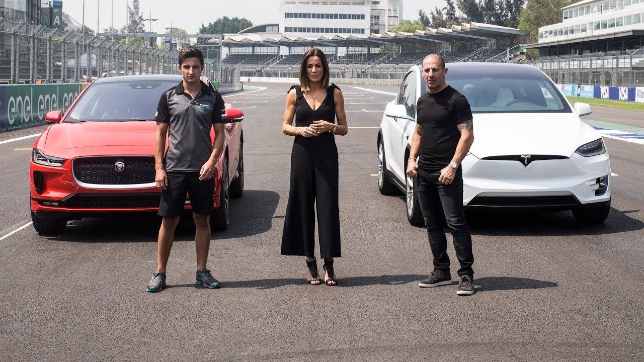2019 Jaguar i-Pace Vs Tesla Model X - Challenge Test - Dauer: 6 Minuten, 22 Sekunden