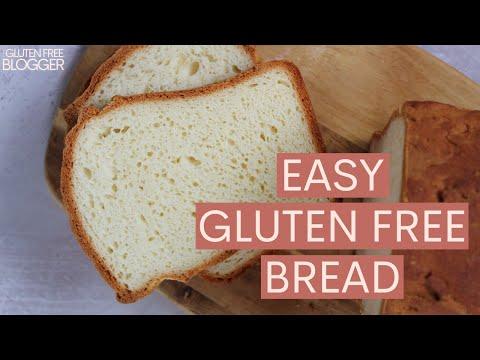 HOW TO MAKE GLUTEN FREE BREAD | EASY BREAD RECIPE