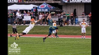 Game Highlights: San Francisco FlameThrowers vs Madison Radicals — 2017 AUDL Semifinal