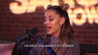 ariana grande habla de sus ex's en nuevo album  [entrevista] (sub español) PARTE 1