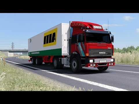 ETS2 1.30 - Old School IVECO 190-38 - Croatia to Hungary - ProMods 2.26