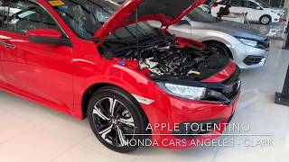 DETAILED!!! 2018 HONDA CIVIC 1.5 RS TURBO NAVI CVT ( Philippines )