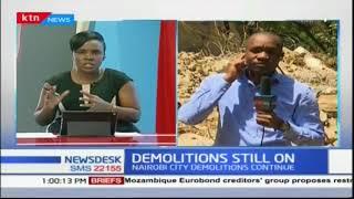 More demolitions going on in Nairobi\'s Kileleshwa Estate
