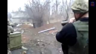 Война видео Украина Донбас  АТО Жесткий уличный Бой за Марьинку Battle for the Maryinka   YouTube