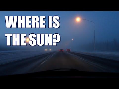 WINTER SOLSTICE IN ALASKA - [Living In Alaska 255]
