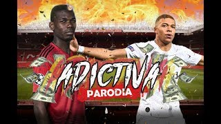 Canción Manchester United vs PSG (Parodia - Adictiva)