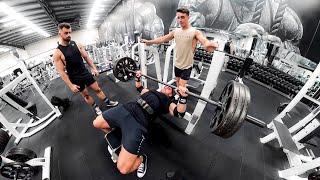 Who is The BEST Gymshark Athlete?! | MY HEAVIEST BENCHPRESS