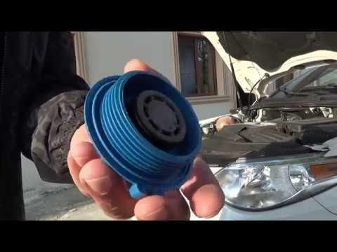 Крышка, пробка радиатора или расширительного бачка. Клапан не держит давление. Как проверить #2