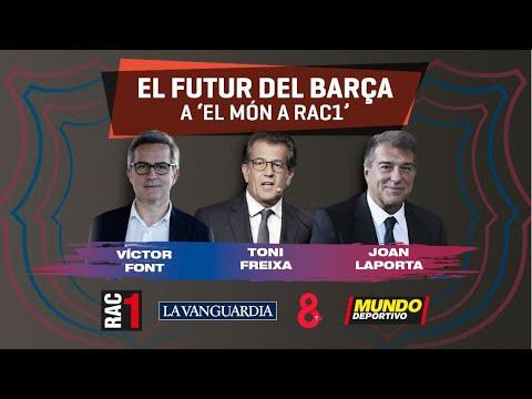 DIRECTO: Elecciones en el Barça - Debate de los tres candidatos a la presidencia