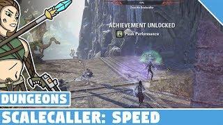 Scalecaller Speedrun - Peak Performance Achievement - ESO Dungeon Achievements!