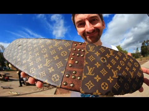 WORLD'S MOST EXPENSIVE GRIP TAPE?! | YOU MAKE IT WE SKATE IT EP 52