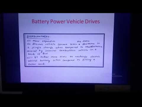 Battery Powered Vehicle Drives