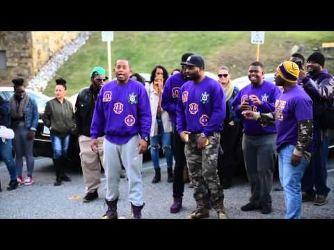 Omega Psi Phi Fraternity Inc| Pi Chapter | Morgan State Homecoming 2k15