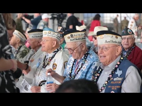 Survivors mark 75 years since Pearl Harbor attack